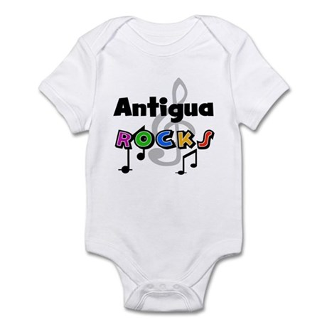 Antigua Rocks Infant Bodysuit