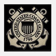 USCG Tile Coaster