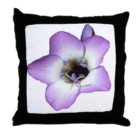 Purple Flower - Throw Pillow