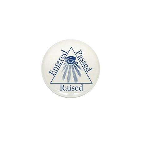 Entered Passed Raised Mini Button (10 pack)