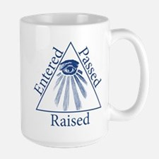 Entered Passed Raised Mug