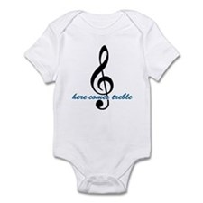 Here Comes Blue Treble Infant Bodysuit