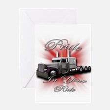 Pride In Ride 4 Greeting Card
