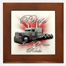 Pride In Ride 4 Framed Tile