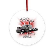 Pride In Ride 4 Ornament (Round)