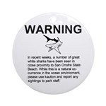 San Onofre Great White Shark Keepsake