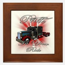 Pride In Ride 3 Framed Tile