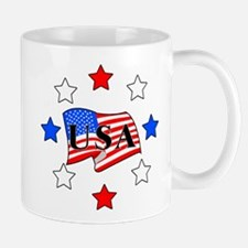 USA Stars and Stripes Mug