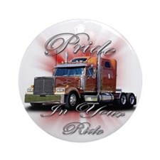 Pride In Ride 2 Ornament (Round)