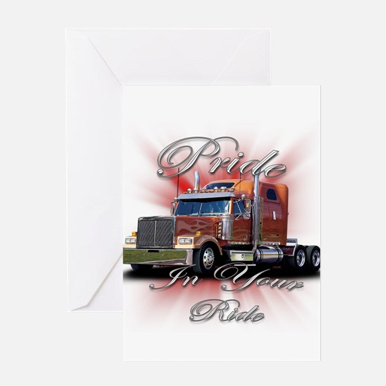 Pride In Ride 2 Greeting Card