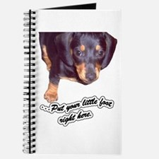 Dancing Dachshund Dog Journal