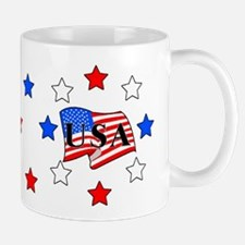 USA Stars and Stripes Mug