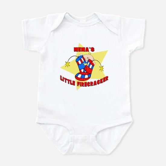 Mema Firecracker July 4th Infant Bodysuit