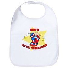 Mimi's Firecracker July 4th Bib