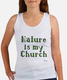 Nature is my Church Women's Tank Top