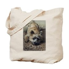 Cairn Terrier Dig It! Tote Bag