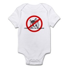 Cute Roll in shabbos Infant Bodysuit