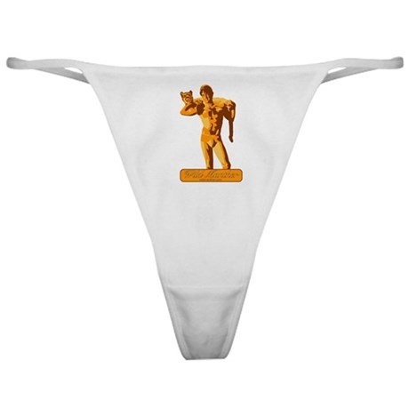 Yellow Manther Classic Thong