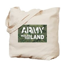 Army Rules Green Camo Tote Bag