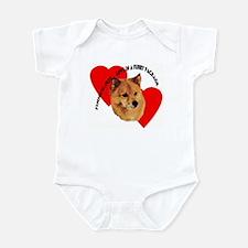 Finnish Spitz Love Infant Bodysuit