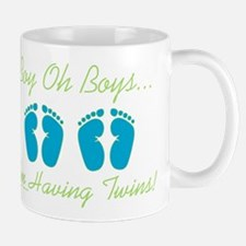 Boy Oh Boys - Expecting Twins Mug