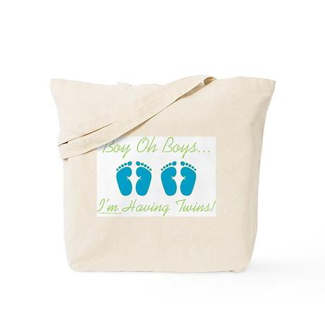 Boy Oh Boys - Twins Tote Bag