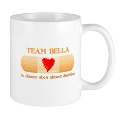 Team Bella (Clumsy) Mug