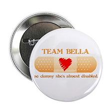 "Team Bella (Clumsy) 2.25"" Button"