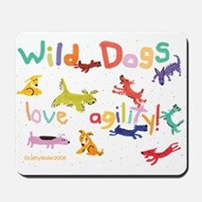 Wild Dogs Mousepad
