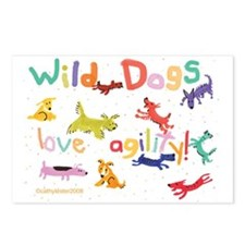 Wild Dogs Postcards (Package of 8)