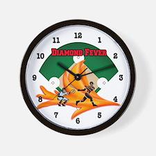 Diamond Fever Wall Clock
