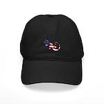 Gecko Patriotic Black Cap