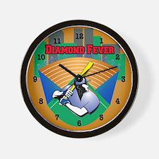 Diamond Fever City Wall Clock