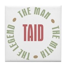 Taid Man Myth Legend Tile Coaster