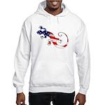 Gecko Patriotic Hooded Sweatshirt