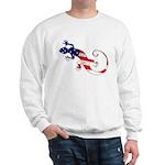 Gecko Patriotic Sweatshirt