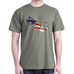 Gecko Patriotic Dark T-Shirt