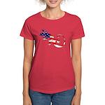 Gecko Patriotic Women's Dark T-Shirt