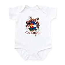 Butterfly Colorado Infant Bodysuit