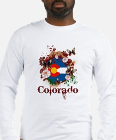 Butterfly Colorado Long Sleeve T-Shirt