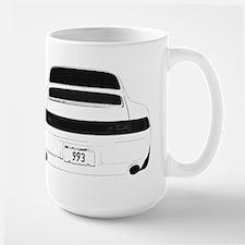 993 Porsche Carrera Targa Tur Large Mug