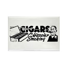 Cigars Rectangle Magnet
