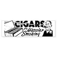 Cigars Bumper Bumper Sticker