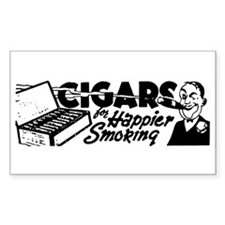 Cigars Rectangle Decal