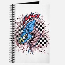 RaceFashion.com skulls Journal