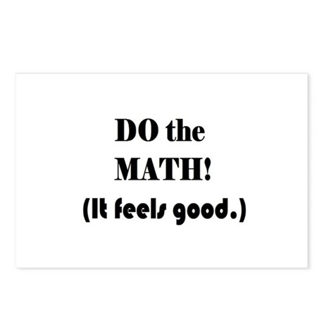 DO the MATH! (It feels good. Postcards (Package of