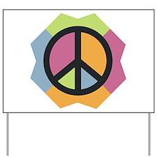 Peace Please Yard Sign