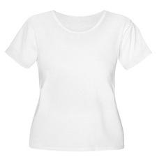 Great Dane Walking bk prnt T-Shirt
