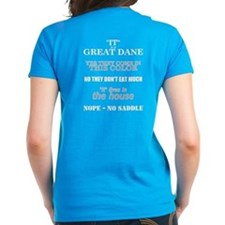 Great Dane Walking bk prnt Tee