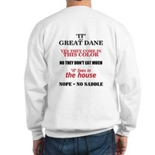 Great Dane Walking bk prnt Sweater